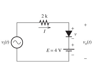 solved for the circuit shown in the figure find vi when d rh chegg com