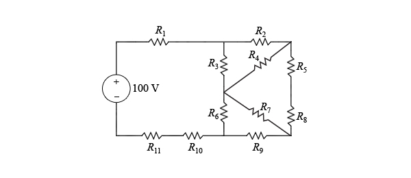 solved  learning goal  to simplify a resistive network usi