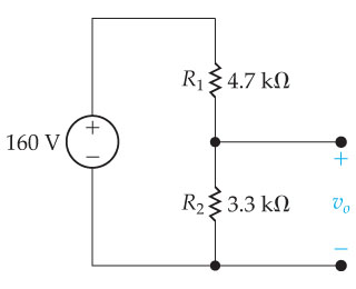 how to find load voltage